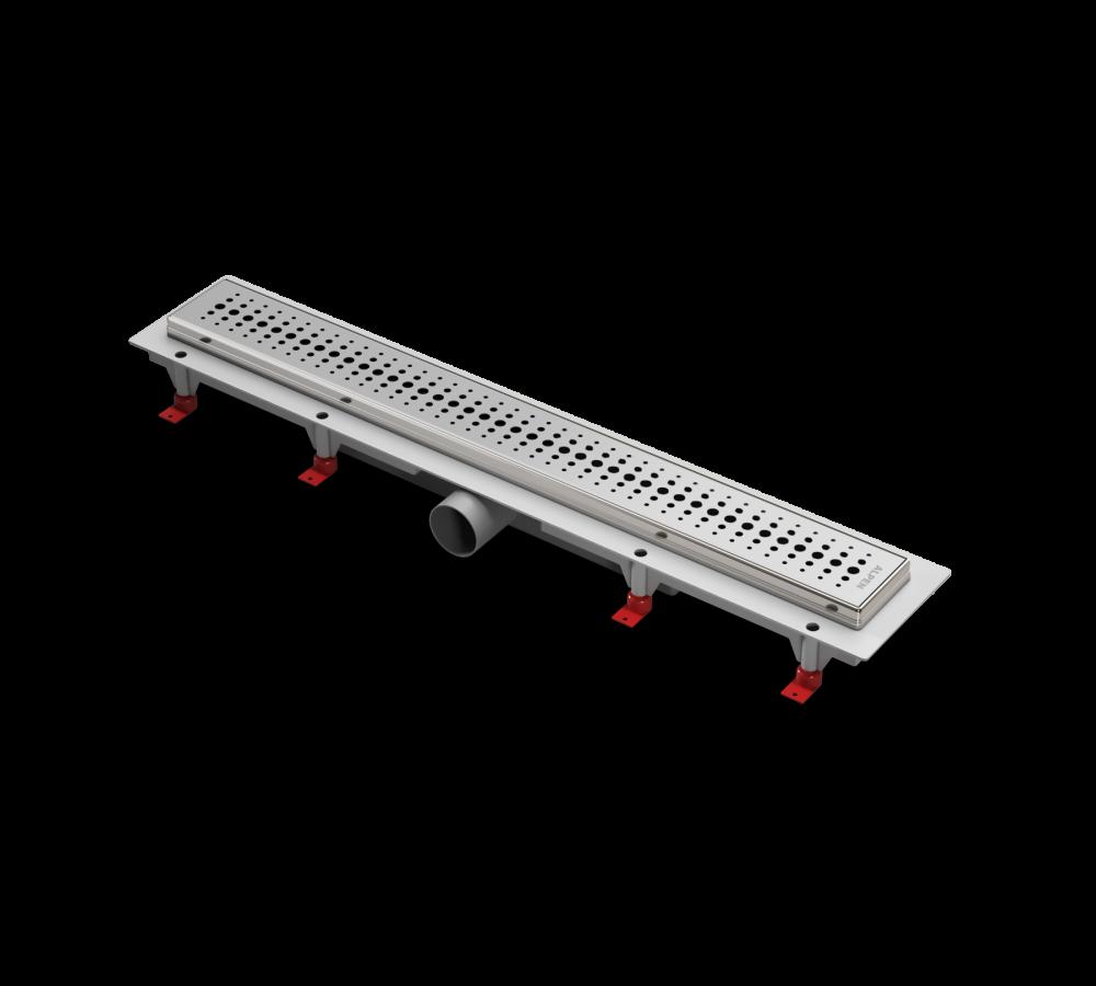 Водоотводящий желоб ALPEN Basic ALP-1050/50BN с рамкой