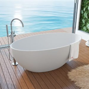 Ванна из литого мрамора ALPEN Venecia 160