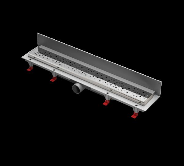 Водоотводящий желоб ALPEN Square ALP-850SN3 к стене с рамкой