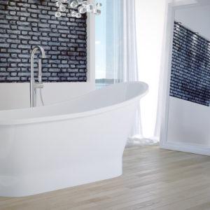 Ванна из литого мрамора BESCO GLORIA 160