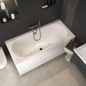 Акриловая ванна ALPEN Astra B 165