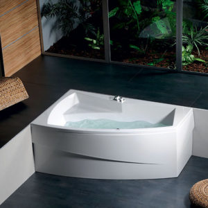Акриловая ванна ALPEN Evia 160 L