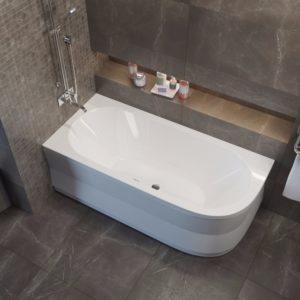 Акриловая ванна ALPEN Astra 165х80 L