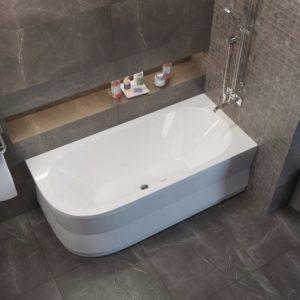 Акриловая ванна ALPEN Astra 165x80 R