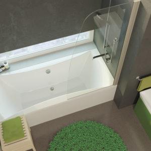 Акриловая ванна ALPEN Luna 160