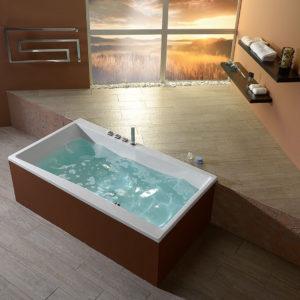 Акриловая ванна ALPEN Quest 180