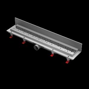 Водоотводящий желоб ALPEN Drops ALP-750D3 для монтажа вплотную к стене