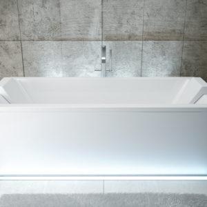 Акриловая ванна BESCO Quadro 165