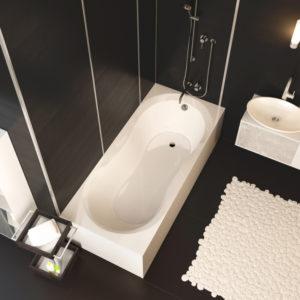 Акриловая ванна ALPEN Mars 160
