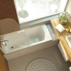 Акриловая ванна ALPEN Diana 160