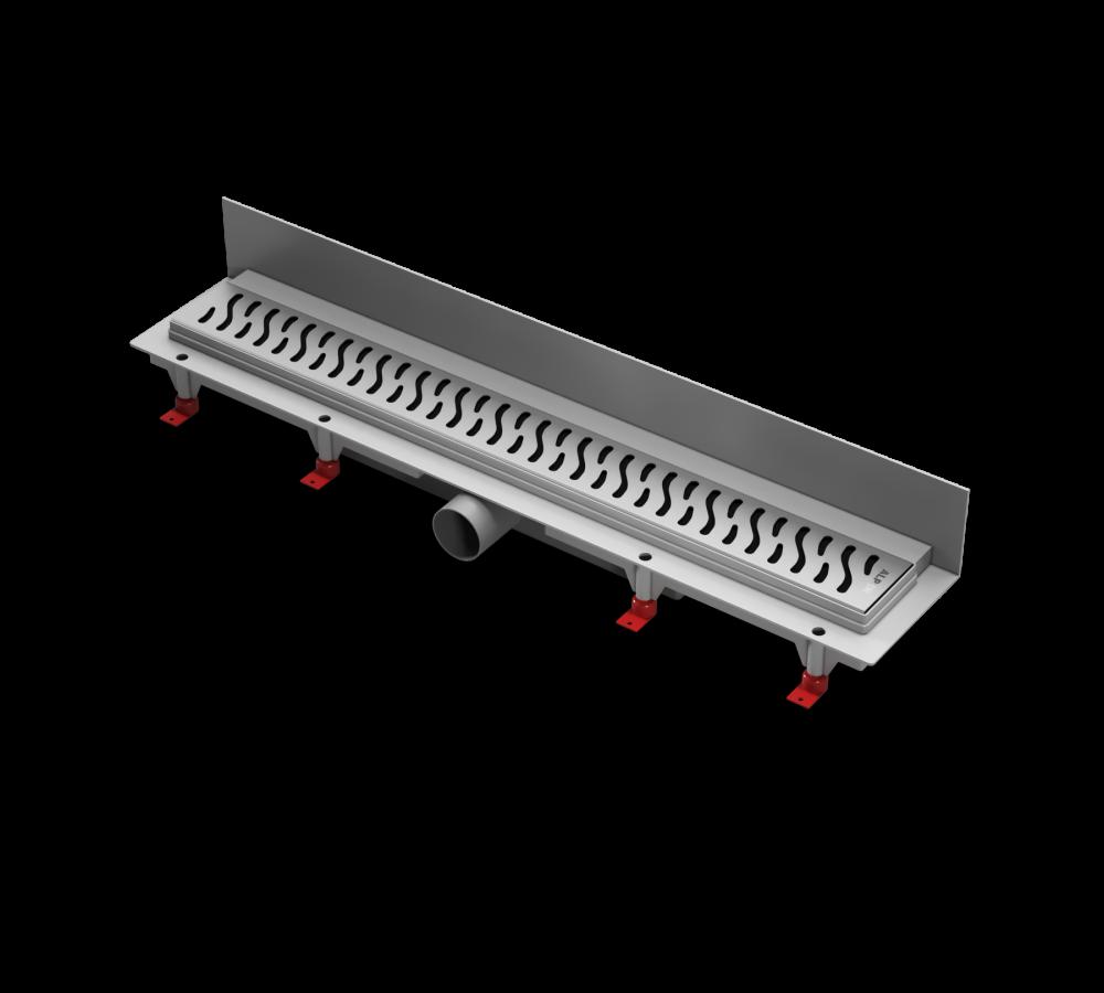 Водоотводящий желоб ALPEN Harmony ALP-650H3 для монтажа вплотную к стене