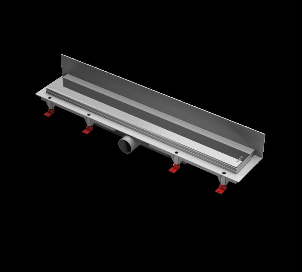 Водоотводящий желоб ALPEN Klasic/Floor ALP-750K2 для монтажа вплотную к стене