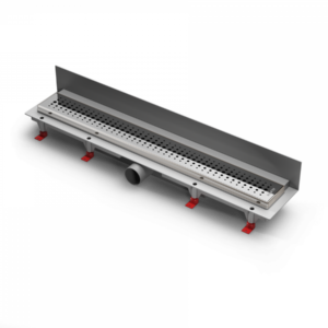 Водоотводящий желоб ALPEN Basic ALP-650BN3 к стене с рамкой