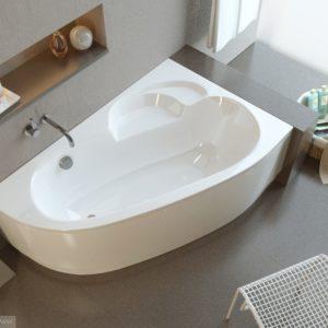 Акриловая ванна ALPEN Terra 170 R