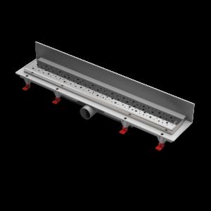 Водоотводящий желоб ALPEN Square ALP-750SN3 к стене с рамкой