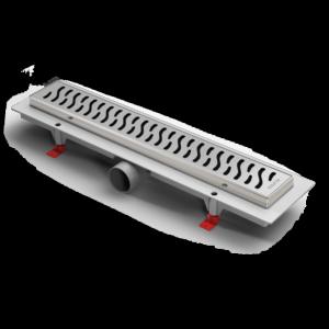 Водоотводящий желоб ALPEN Harmony ALP-350HN1 с рамкой