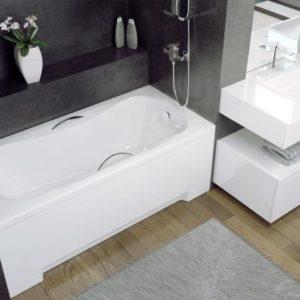 Акриловая ванна BESCO Aria 150x70 + фронтальная панель