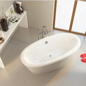 Акриловая ванна ALPEN Amur 180